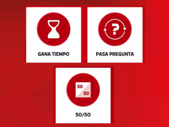 Ayudas del Quiz de la app para estudiantes de odontología.