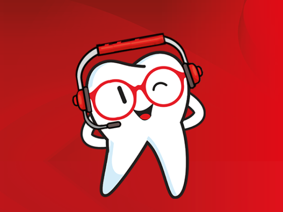 La app para estudiantes de odontología tiene número y correo.