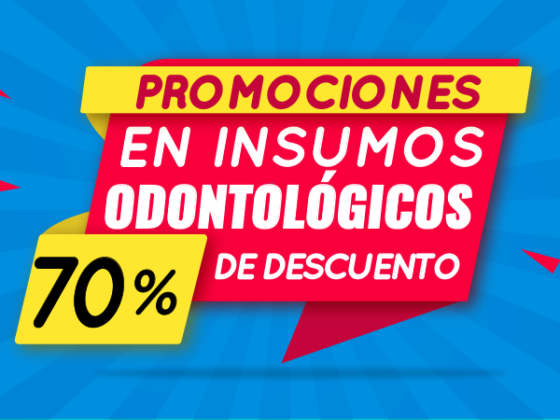 Promociones para estudiantes de odontología.