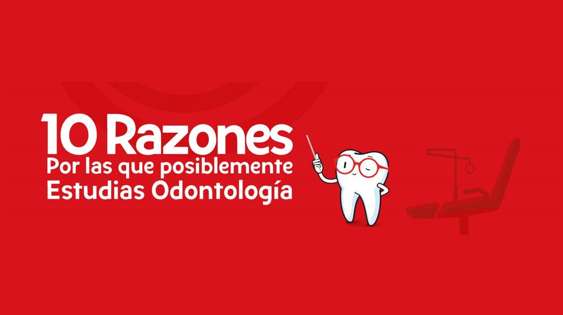 10 razones por las que estudias odontología